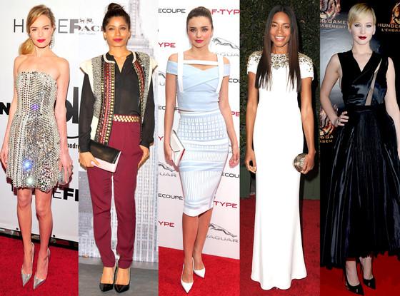 Kate Bosworth, Freida Pinto, Miranda Kerr, Naomie Harris, Jennifer Lawrence