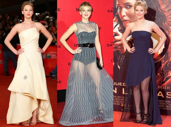 Jennifer Lawrence, Floor-Length