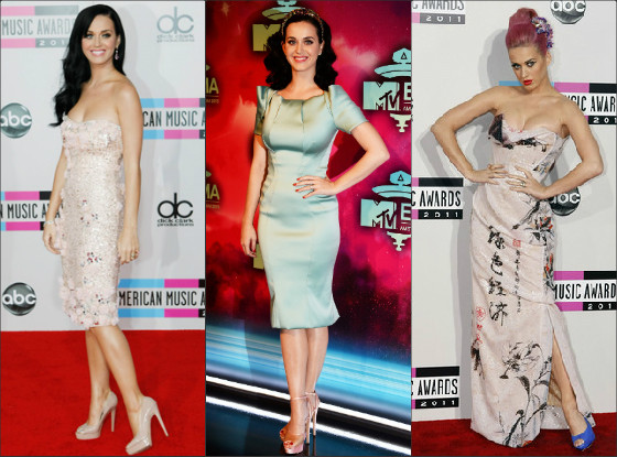 O estilo de Katy Perry no Red Carpet