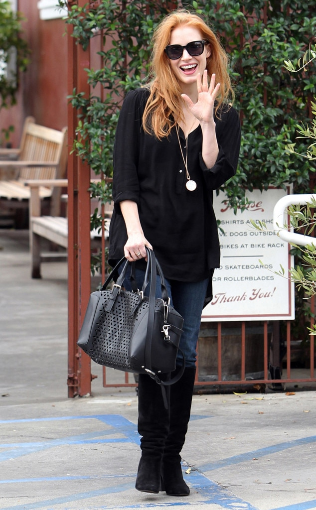 Jessica Chastain, Brentwood Country Mart