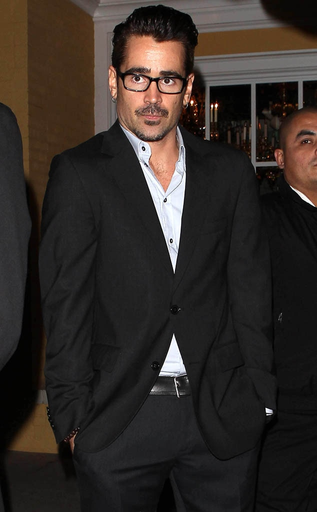 Colin Farrell, Miss Golden Globe Announcement, Fig And Olive, West Hollywood