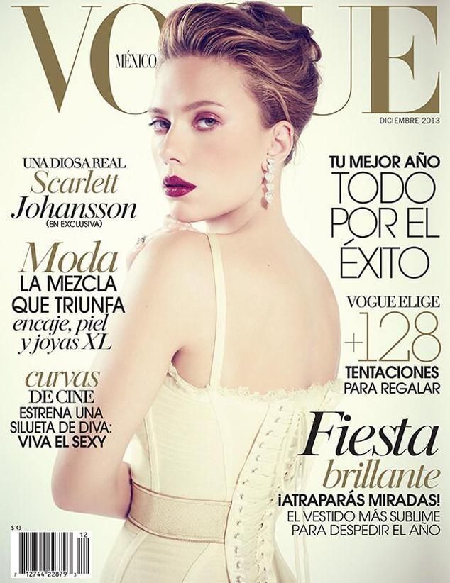 Scarlett Johansson, Vogue Mexico, December