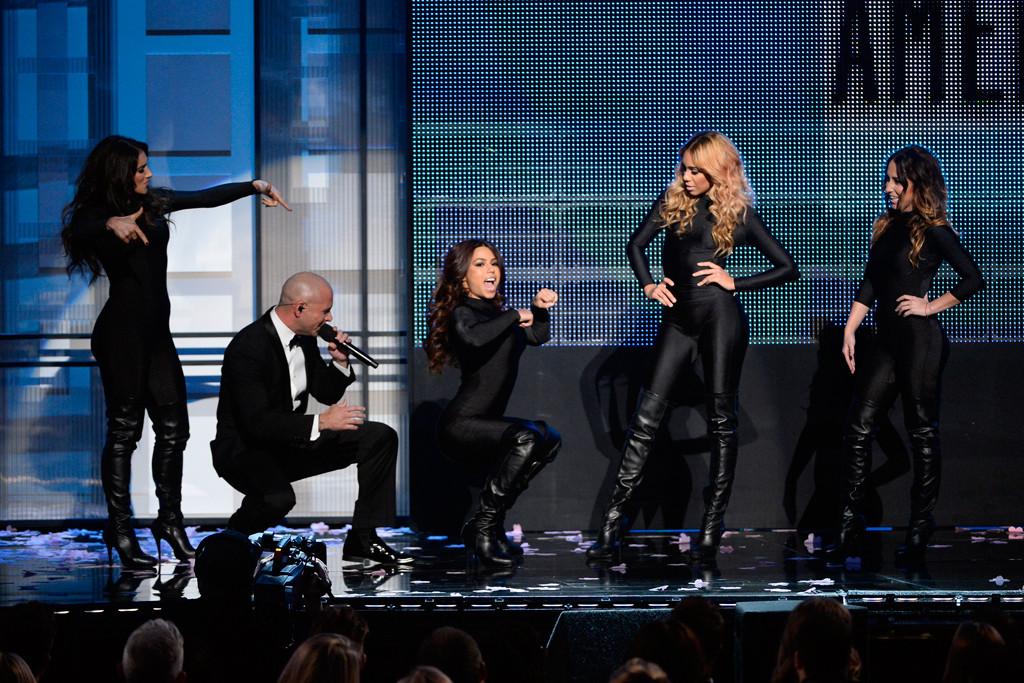 Pitbull, Fifth Harmony, 2013 American Music Awards