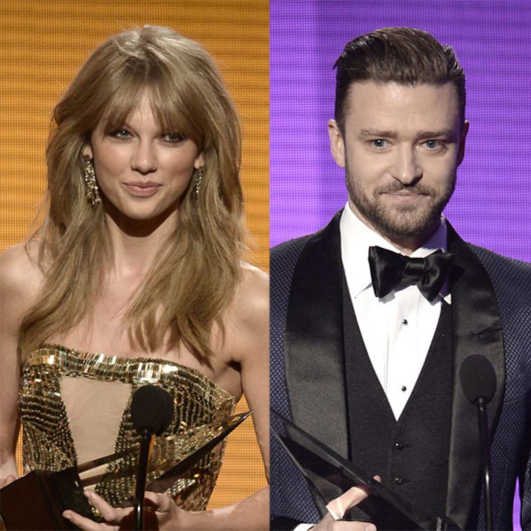 Taylor Swift And Justin Timberlake Earn Top Honors At 2013 American Music Awards See All The Winners E Online Ca