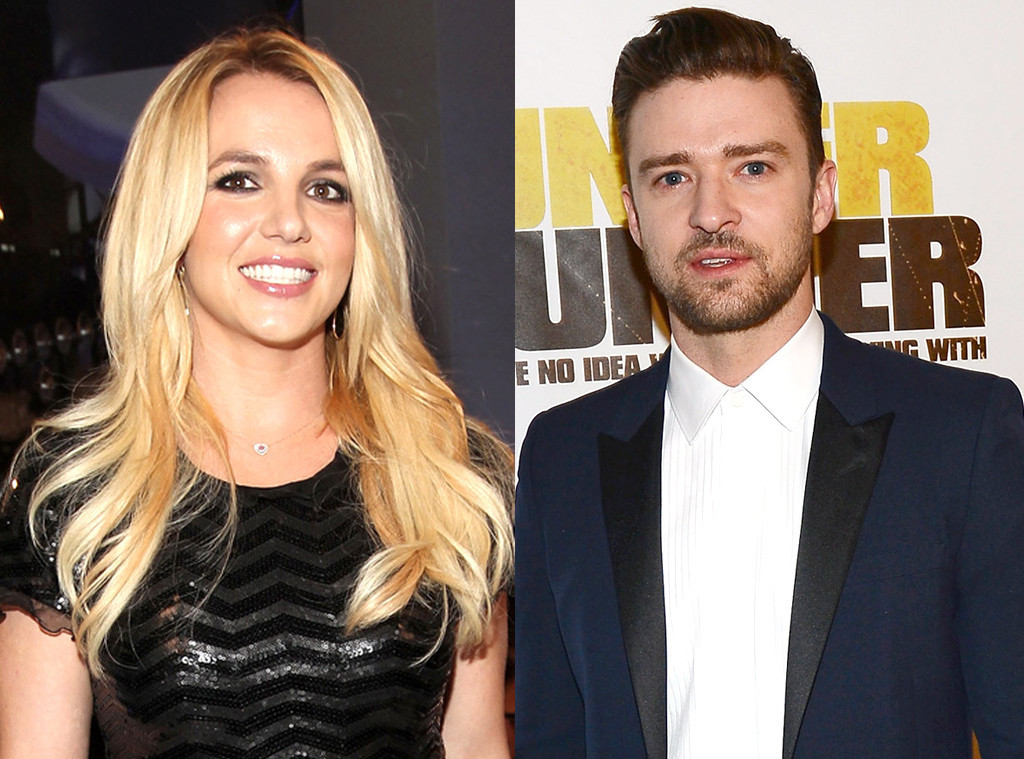 Britney Spears Does Backflips To A Justin Timberlake Song E Online Au