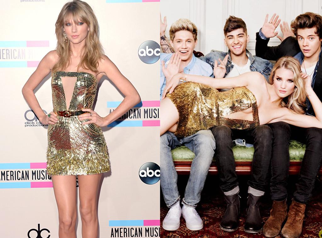Taylor Swift, Rosie Huntington-Whiteley