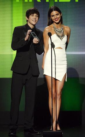Austin Mahone, Kendall Jenner, American Music Music