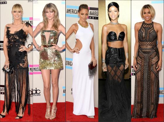 Bem vestidas AMA 2013
