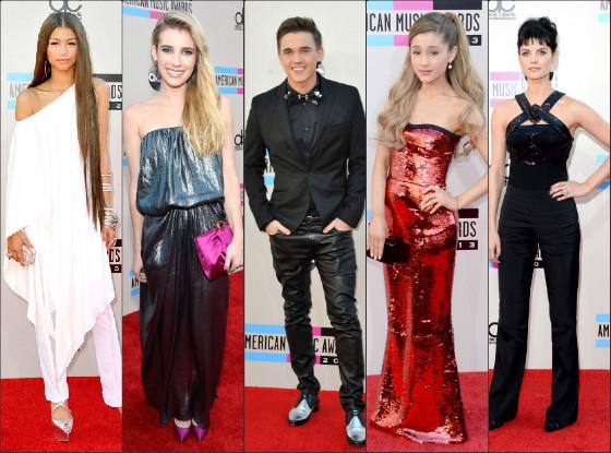 Mal vestidos AMA 2013