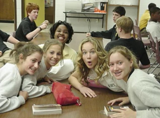 Jennifer Lawrence, Middle School