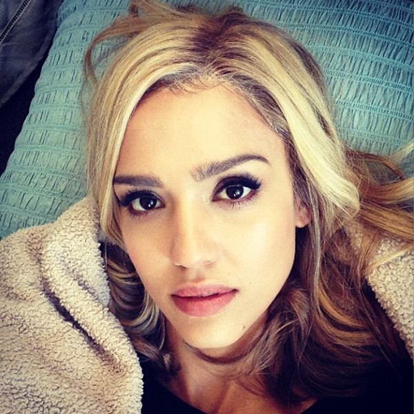 Jessica Alba, Instagram, Blonde