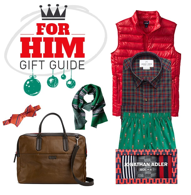 2013 Holiday Gift Guide - For Him