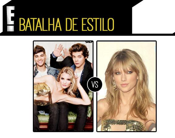 Taylor Swift Rosie Huntington-whiteley batalha de estilo