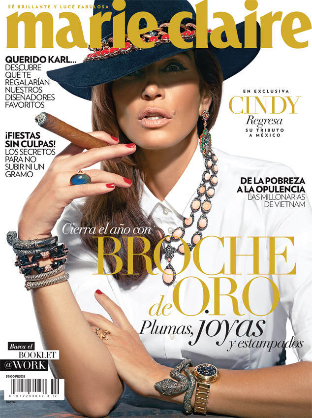 Cindy Crawford, Marie Claire