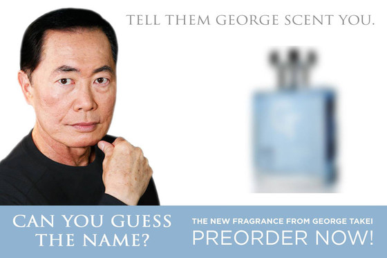 George Takei, Fragrance