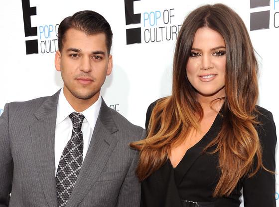 Rob Kardashian, Khloe Kardashian Odom