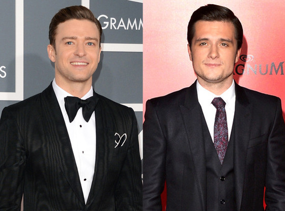 Justin Timberlake, Josh Hutcherson, Split