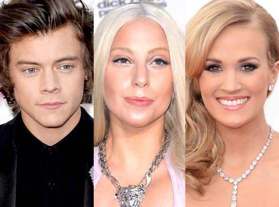 Carrie Underwood, Harry Styles, Lady Gaga