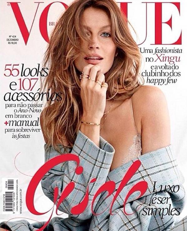 Gisele Bundchen Vogue Brasil