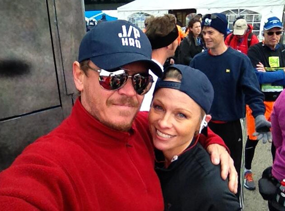 Pamela Anderson, New York Marathon