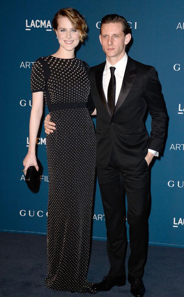 Evan Rachel Wood, Jamie Bell, LACMA Gala