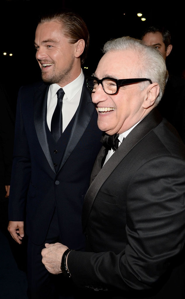 Leonardo DiCaprio, Martin Scorsese, LACMA Gala