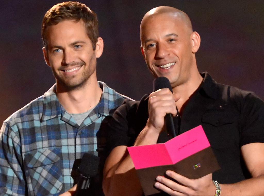 Paul Walker, Vin Diesel, 2013 MTV Movie Awards