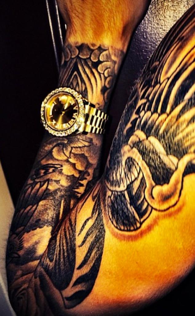 Justin Bieber, Tattoos