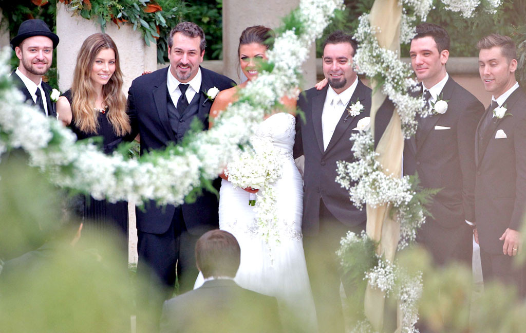 Chris Kirkpatrick Wedding Karly Skladany