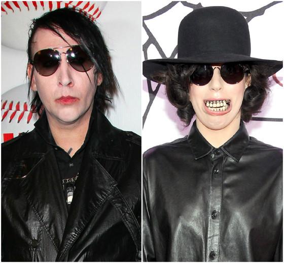 Marilyn Manson, Lady Gaga