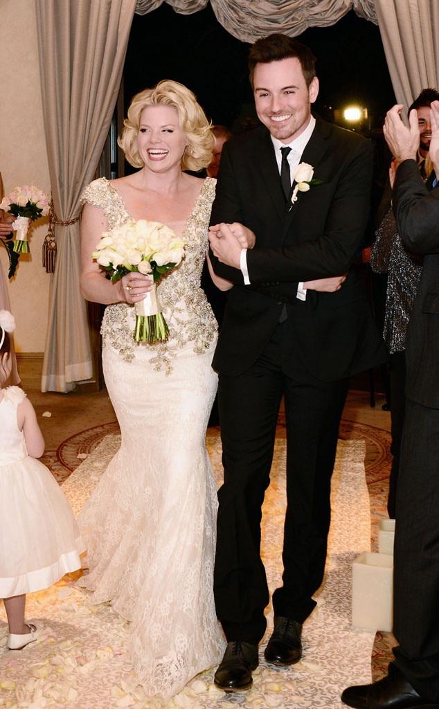 Megan Hilty, Brian Gallagher, Wedding