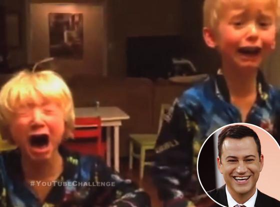Jimmy Kimmel, Parents Eat Halloween Candy
