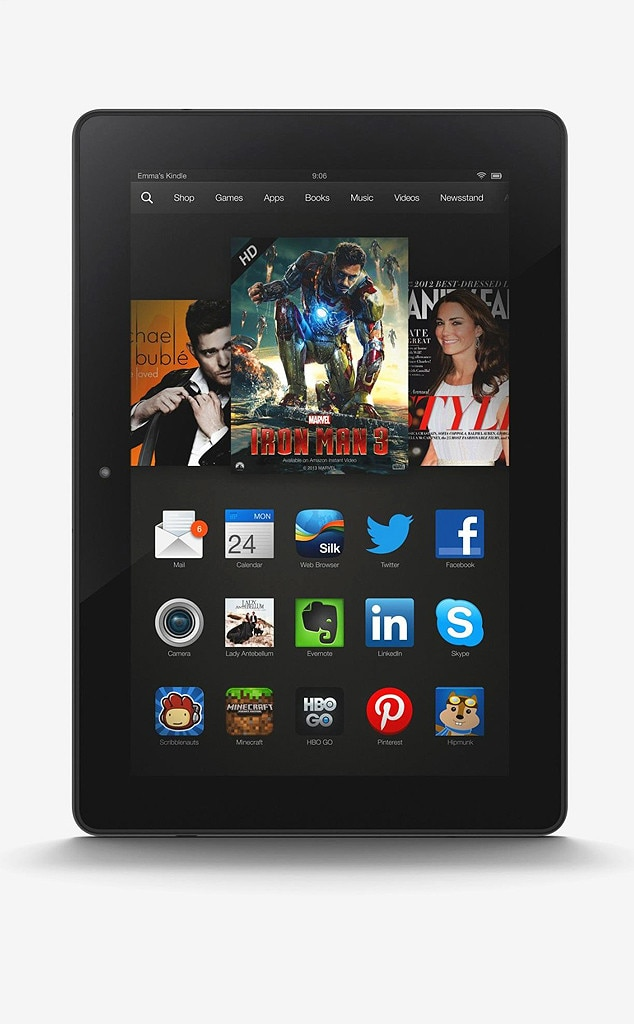 Kindle Fire HDX, Holiday Gadget Gift Guide