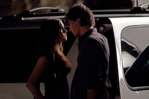 The Vampire Diaries, Nina Dobrev, Ian Somerhalder