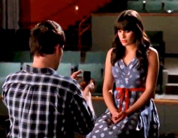 Bluebeerriver: Two Reasons to Watch Glee - Lea Michele And