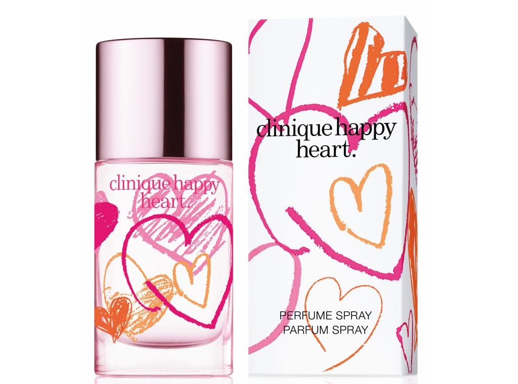 Holiday Charity Gift Guide, Clinique Happy Hearts Fragrance