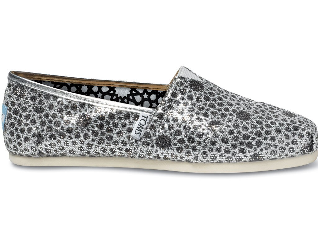 Holiday Charity Gift Guide, TOMS Moroccan Glitters