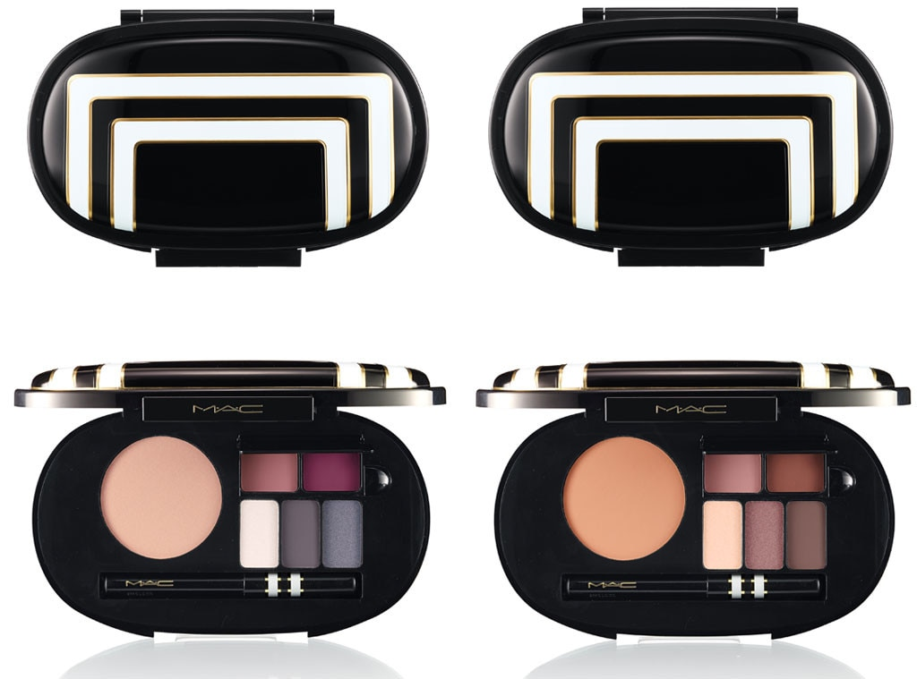 Best Beauty Buys Gift Guide, MAC Stroke of Midnight Face Palettes