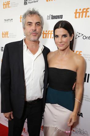 Alfonso Cuarón, Sandra Bullock
