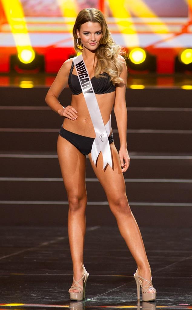 Miss Hungary, Miss Universe, Bikini