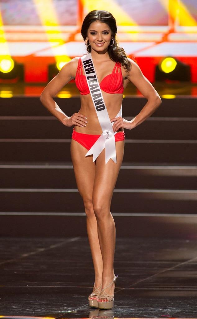 Miss New Zealand, Miss Universe, Bikini