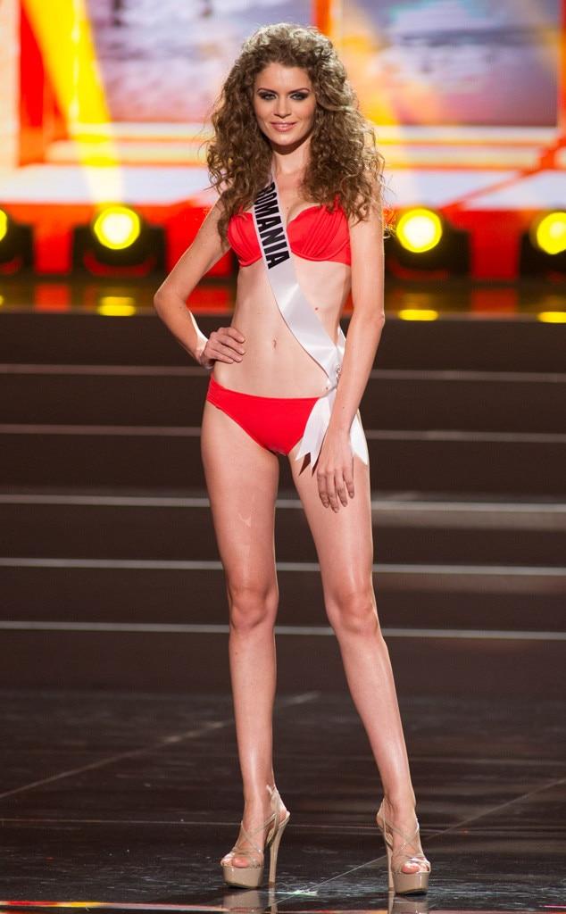 Miss Romania, Miss Universe, Bikini