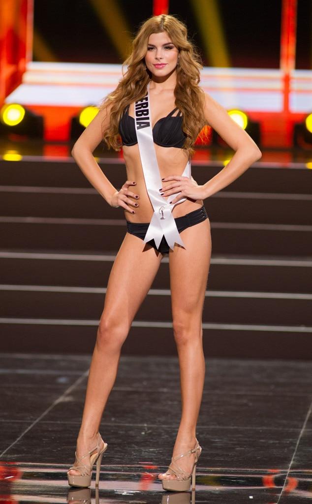Miss Serbia, Miss Universe, Bikini