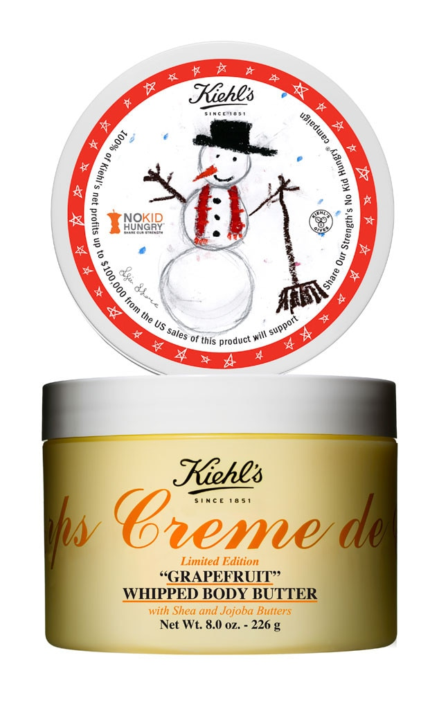 Holiday Charity Gift Guide, Kiehls Crème de Corps