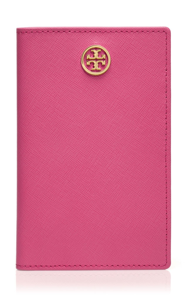 Holiday Charity Gift Guide, Tory Burch Robinson Agenda in Tory Pink