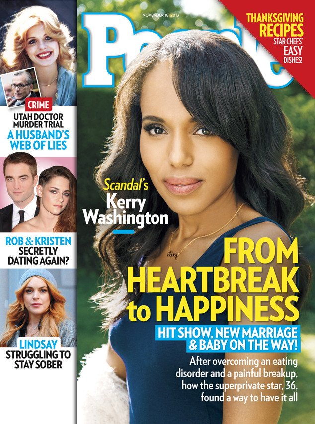 kerry washington magazine friends she happiness pregnancy open say tv deserves everything marriage heartbreak inside copy hit ls
