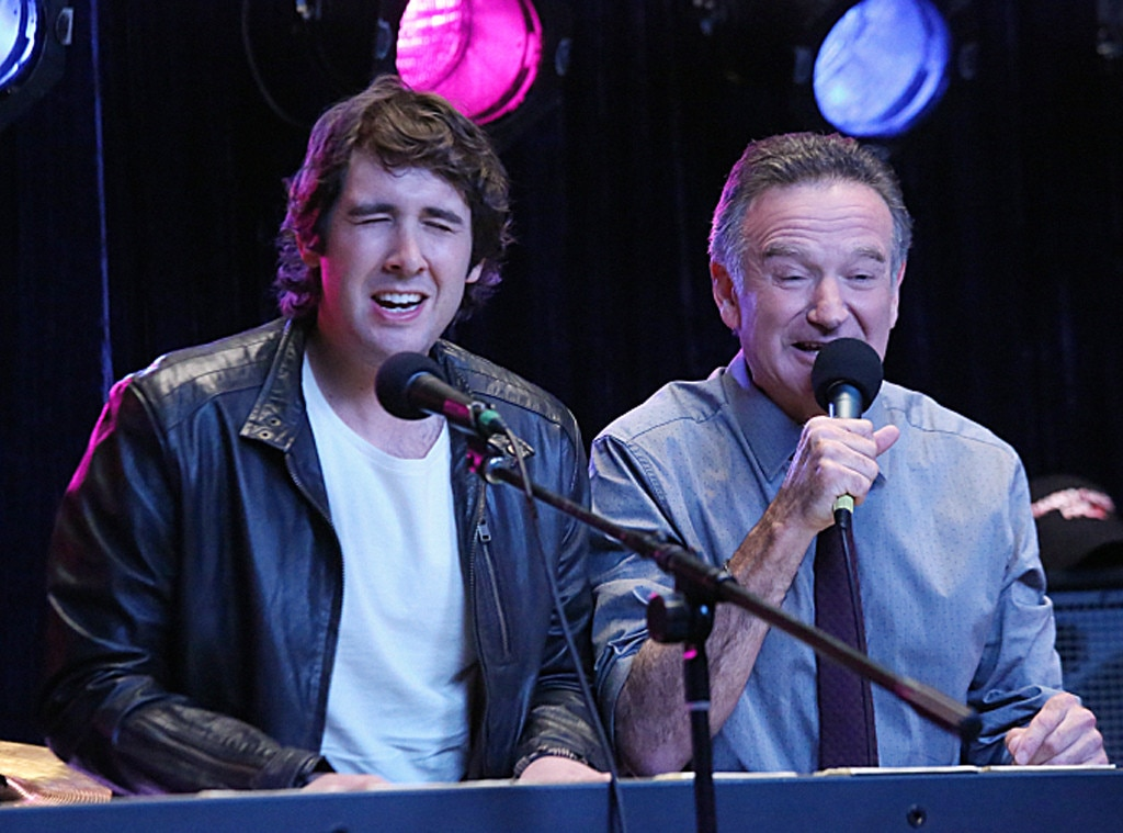 Josh Groban, Robin Williams, The Crazy Ones