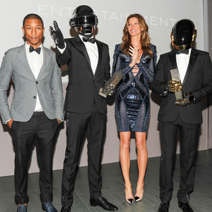 Pharrell Williams, Gisele Bundchen, Daft Punk