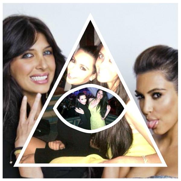Kim Kardashian Is Not A Member Of The Illuminati E News