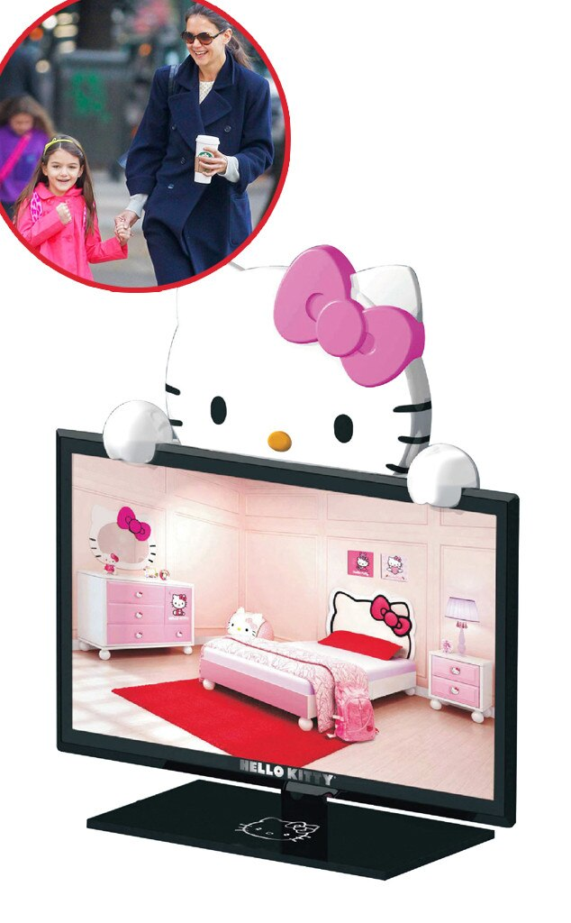 "Hello Kitty 19"" Class HDTV, Suri Cruise, Star-Wothy Kids Gifts"
